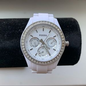 Fossil | White Watch